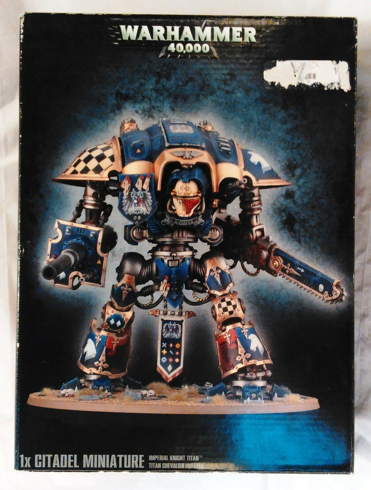 Juegos taller Warhammer 40k Imperial Caballero Titan Paladin Nuevo