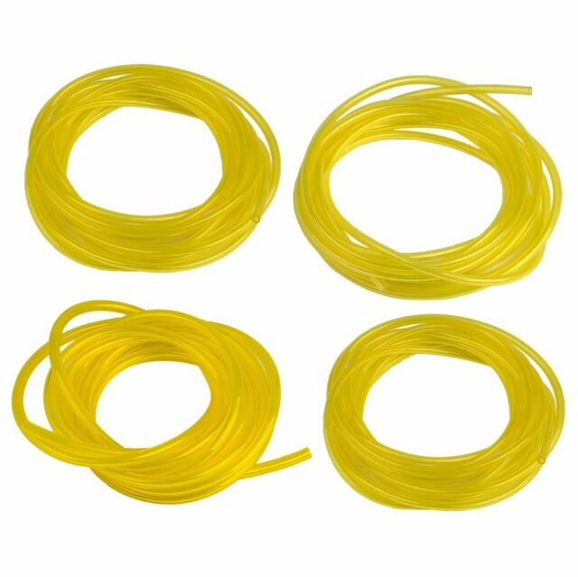 16 Feet 4 Size Fuel Line Hose Lubricant Tubing for Weedeater Chainsaw Engines