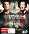 Supernatural : Season 4 (Blu-ray, 2010, 4-Disc Set)