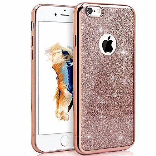 pretty nice aa009 e692e Ultra Thin Bling Glitter Detachable TPU Case for iPhone 5 5s SE