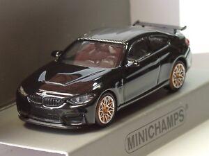 Minichamps Bmw M4 Gts 2016 Schwarz Orange Wheels 870 027102 1