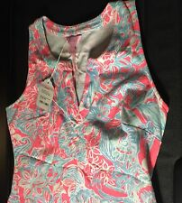 Lilly Pulitzer ESTRADA SHIFT Dress Terry SUN RAY SUMMER SIREN Size Small $140