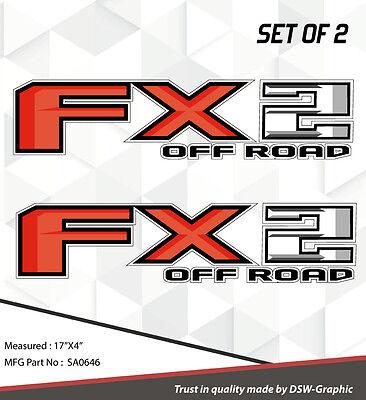 *NEW* 4X4 SPORT OFFROAD DECAL STICKER FITS RAPTOR FX4 F150 F250 F350 RANGER A-04