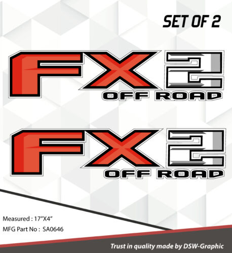 4X4 SPORT OFFROAD DECAL STICKER FOR FX2 F150 F250 F350 RANGER SA0646