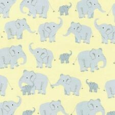 Robert Kaufman Cotton Fabric. Wild Adventure,elephants . By the FQ