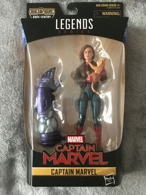 Marvel Legends Marvel Girl With Cat Figure No Baf Piece Kree Sentry Wave