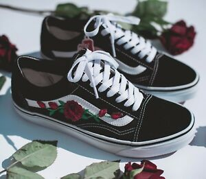 old skool vans rosen patches