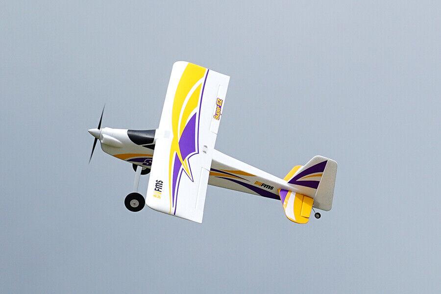 FMSの1220 mmスーパーEZ V 4 RCトレーナー飛行機のPNPなしラジオ