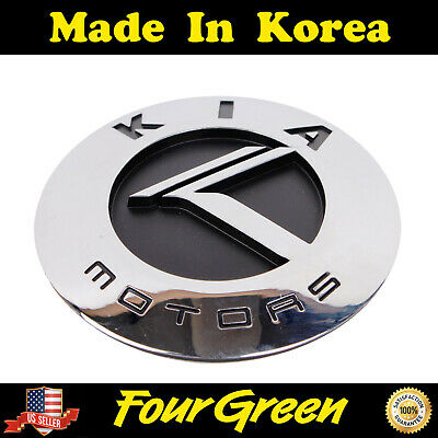 Genuine Trunk K Black /& Chrome Emblem for Kia 03-06 Sorento OEM 863203E041