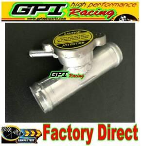 Aluminum-Radiator-Tuck-In-Line-Remote-CNC-Billet-Fill-Filler-Neck-32-mm-1-25-034