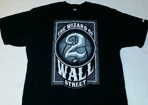 Black Wall Street Clothing the wizard of wall street mens large l shirt reebok john wall