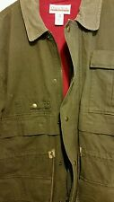Old School Clothing Co. Men's Lined  Jacket brown size M. VGUC