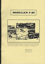 Scale Models 1:32 Modellen • 1990 • Private Edition • Dutch • GOOD CONDITION