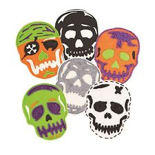 Tovolo Skull Cookie Cutter & 6 Design Stamps Set Pirate Halloween 81-22485