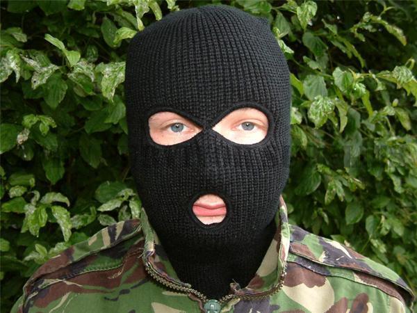 Quality 3 Hole Black Balaclava Ski Mask SAS for sale online  3a17e0d860