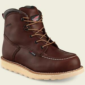 9e05483086e Details about Red Wing TRACTION TRED 2415 Mens Brown NON-METALLIC SAFETY  TOE Waterproof Boots