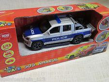 Dickie Toys® Scale1:43 VW Amarok Polizei Police Friktionsmotor ca.12 cm Neu+ OVP