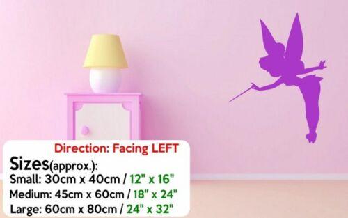 Tinkerbell Fairy Vehicle Wall Van Childrens Mirror Vinyl Sticker Decal Transfer