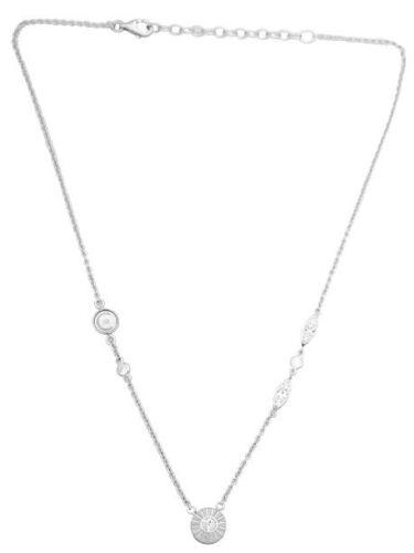 Cerruti r41132z Collier Collar de acero inoxidable con cristales 45 cm nuevo!
