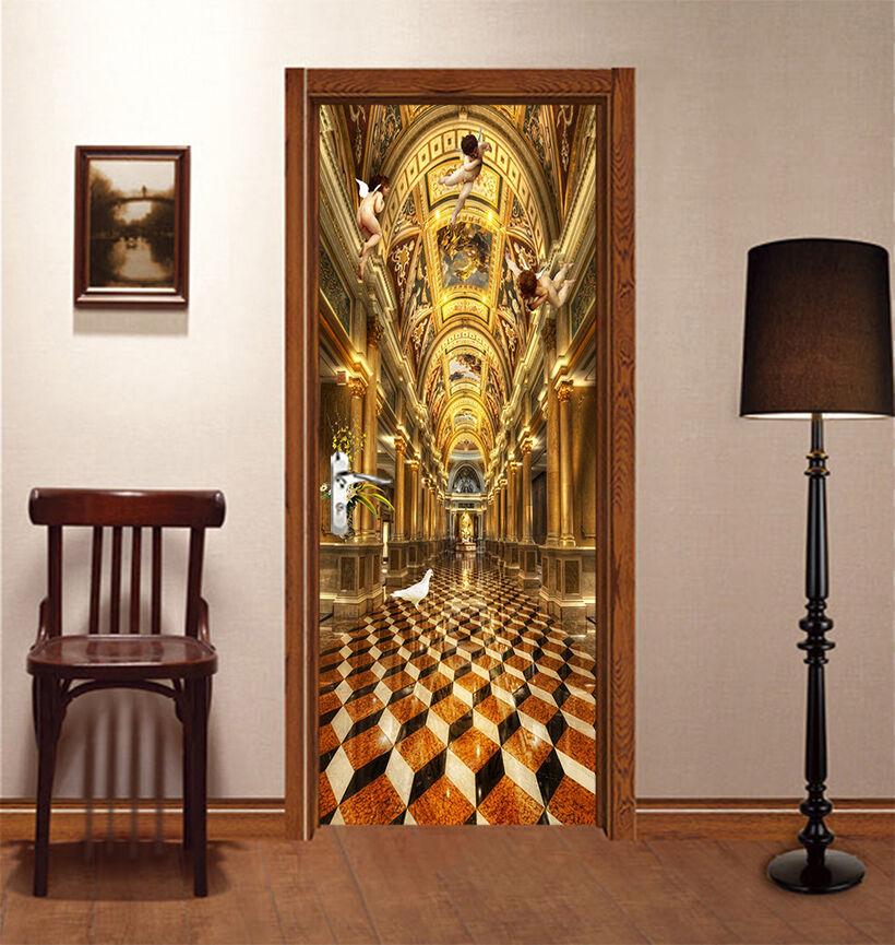 3D Engel 733 Tür Wandmalerei Wandaufkleber Aufkleber AJ WALLPAPER DE Kyra