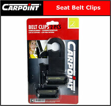Black Seat Belt Clips * 2 Packs of SKK1 A Pair of Seat Belt Safety Clip