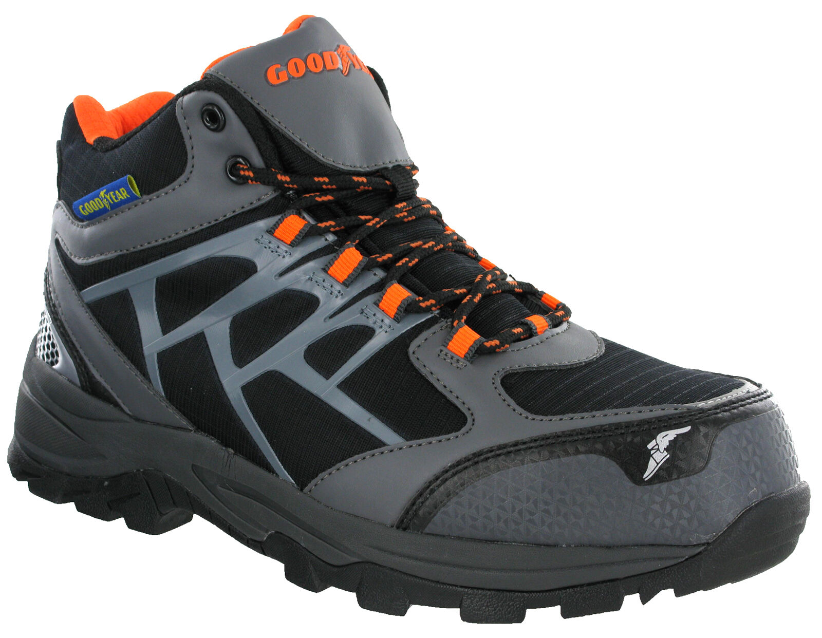 Goodyear Safety Lace botas Composite Toe S3 Lightweight Metal Free Lace Safety Up Hombre 1528 3def5a