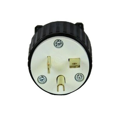U.S.E Heavy Duty Male Replacement Electrical Plug 3 Prong 20A, 5-20P, 125 Volt