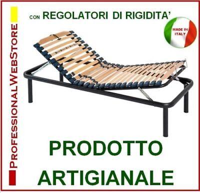 Rete Letto Ortopedico Singolo Alzata Testa Piedi ALZABILE RECLINABILE 80 X 190 Made in Italy REGOLATORI di RIGIDITA INCLINABILE RETI Letti ORTOPEDICI Una Piazza