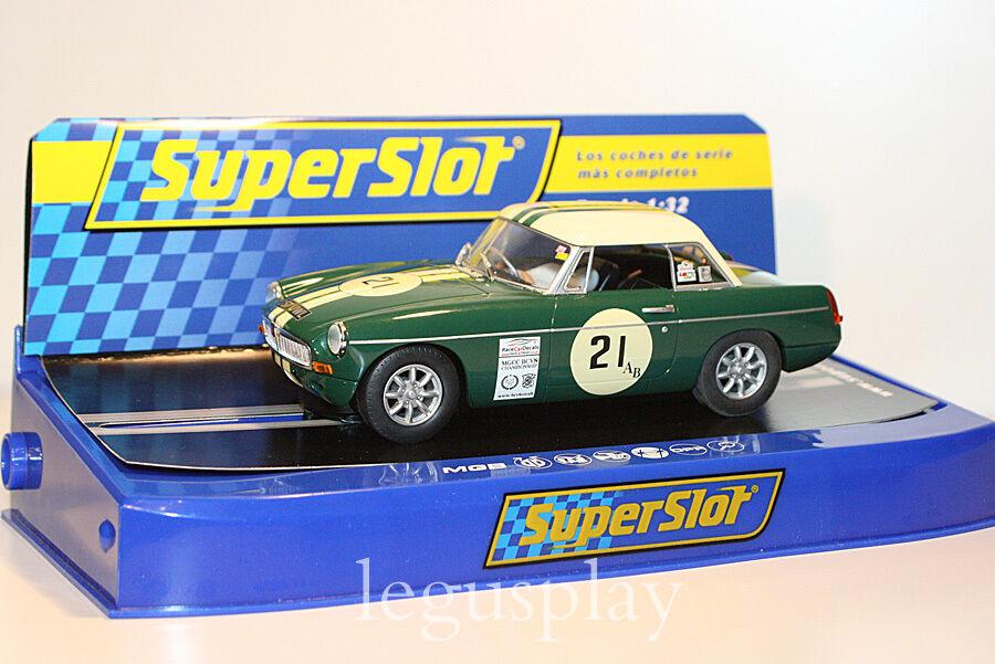 Slot car SCX Scalextric SuperSlot H3631 MGB Nº21 MGCC BCV8 Championship