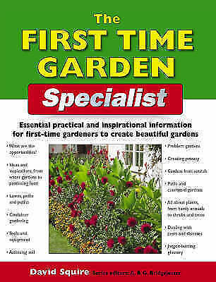 1 of 1 - The First-time Garden Specialist (Specialist Series), , Very Good Book