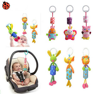 Baby-Infant-Rattles-Plush-Animal-Stroller-Music-Hanging-Bell-Toy-Doll-Softes-Bed