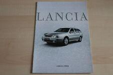 96868) Lancia Lybra + SW Prospekt 01/2002