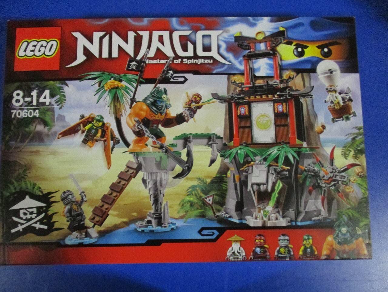 LEGO Ninjago 70604 Schwarze Witwen-Insel NEU OVP