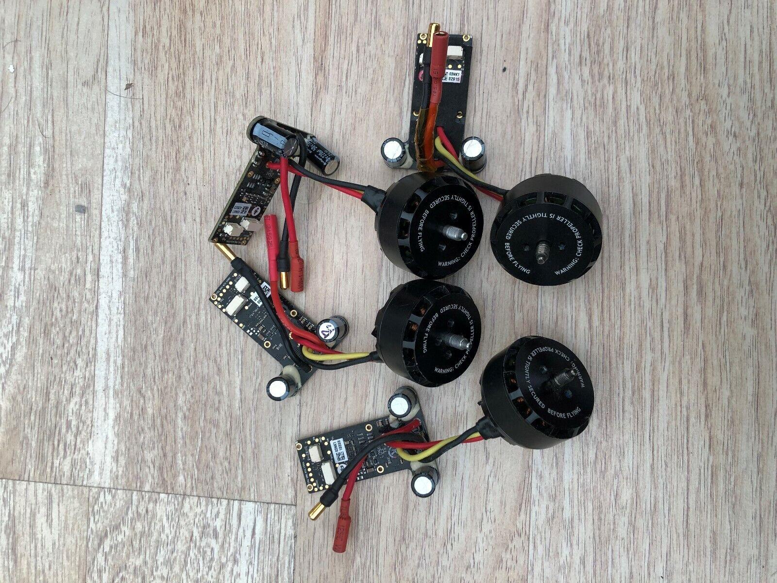 DJI Inspire 1 V1.0  Motor+ESC Full set, 2-CCW 2-CW MOTOR.