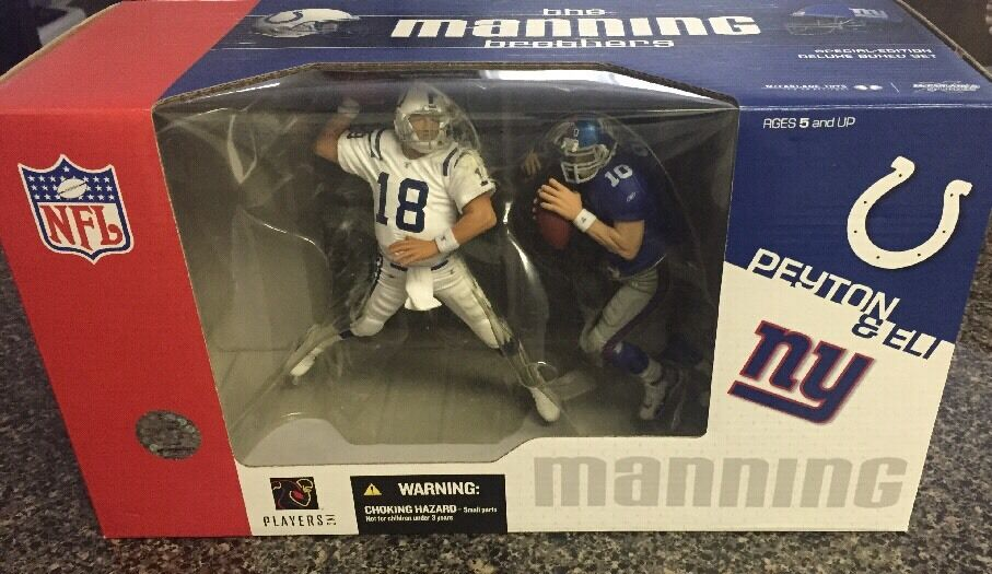 2004 The Manning Bredhers Peyton&Eli Mcfarlane New Sealed