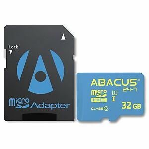 32GB microSD Class 10 Memory Card & SD Adapter Compatible with Polaroid Cameras