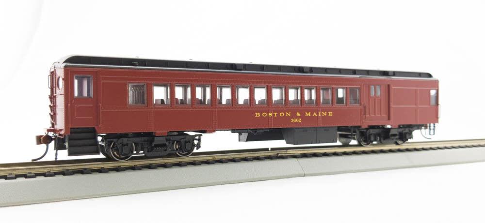 HO P-54 Boston & Main Combine Car   3662  01   1-94080