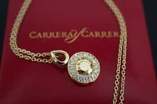 Carrera y Carrera: Sevilla 18K Gold and Diamond Pendant - New! MSRP $5,420
