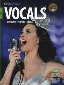 100% Vrai Rockschool Chant Féminin Grade 1 Music Book With Audio Accès Tests Examens Chansons-afficher Le Titre D'origine Pure Blancheur