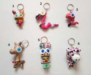 Keychain-Pet-Animal-Figure-Style-Cloth-Doll-Toy-Cute-Keyring-Handcraft-Gift-5