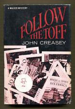 FOLLOW THE TOFF by John Creasey - 1967 1st American Edition in DJ - VG+