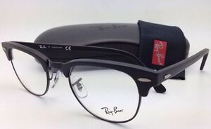02108b01f7f Image is loading New-RAY-BAN-CLUBMASTER-Rx-able-Eyeglasses-RB-