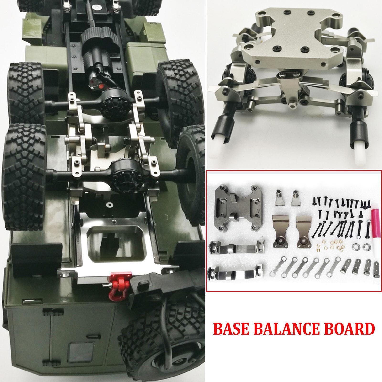 DIY Metall Basis Balance Board Upgrade Part Für 1 16 WPL B16 B36 6WD RC LKW Car