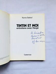BD-Tintin-et-moi-Entretiens-avec-HERGE-EO-1975-Dedicace-NUMA-SADOUL