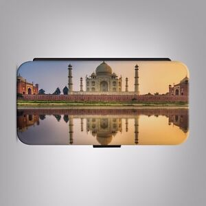 Taj-Mahal-India-Mausoleum-LEATHER-FLIP-PHONE-CASE-COVER-for-IPHONE-SAMSUNG