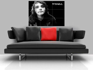 MY-CHEMICAL-ROMANCE-BORDERLESS-MOSAIC-TILE-WALL-POSTER-35-034-x-25-034-GERARD-WAY