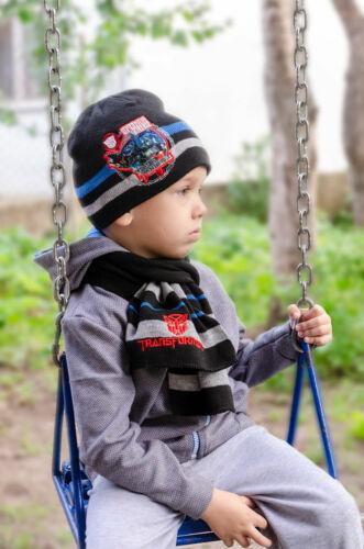 Hasbro Transformers Mütze und Schal Set für Kinder versch Größen und Farben Neu