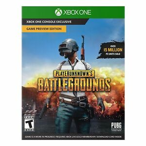 Playerunknown S Battlegrounds Game Preview Edition Microsoft Xbox