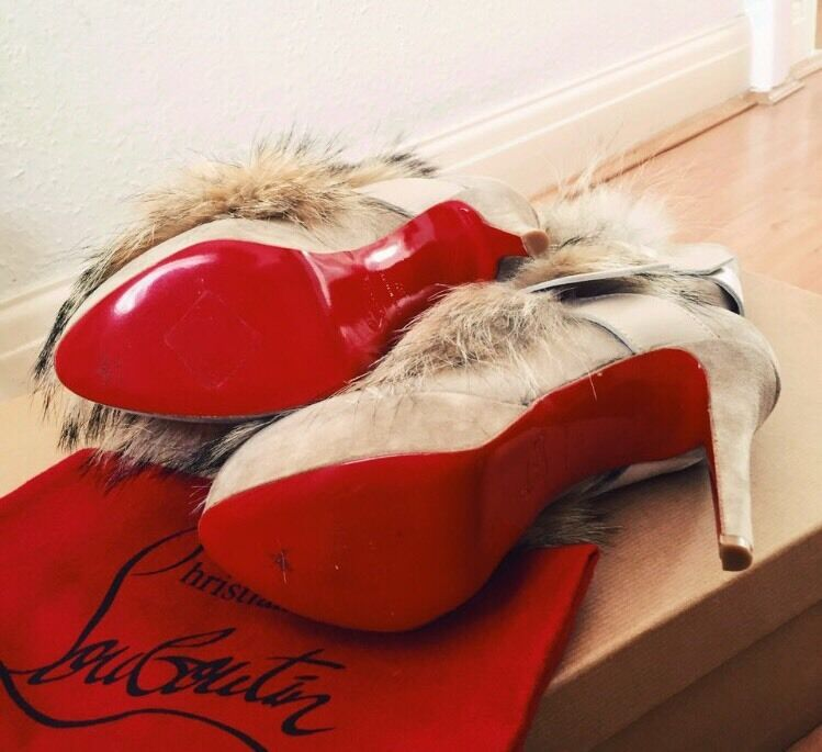 100% Authentic Christian Christian Christian Louboutin Boots 034cd3
