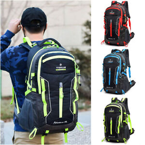 Waterproof-Backpack-60L-Large-Rucksack-Hiking-Camping-Travel-Bag-Outdoor-Bag-D